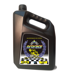 MOTOR OIL RACING MAX POWER MOTO 5W40 GP 5 Litri